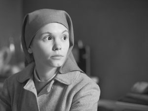 Agata Trzebuchowska as Ida, in IDA. Courtesy of Music box Films