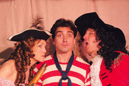 "Susie Couch, left, Max Avila, center, and Jasin Ouisenberry star in Circle Bar B's ""Nonsense Precious."" Courtesy photos"