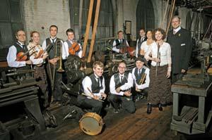 Rick Benjamin, far right, brings the Paragon Ragtime Orchestra to the Granada Theatre. Courtesy photo