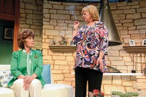 "Amanda McBroom as Polly and Deborah Taylor as Silda in ""Other Desert Cities"" Christopher Brown photo"