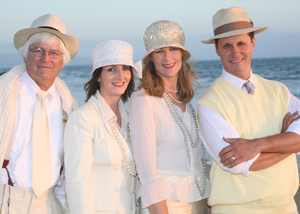 Ready Willing and Mabel, a mixed-voice quartet, will be backed by a 20-piece, red fez and bowtie-wearing big band called the Rockin' Moroccans. Courtesy photo