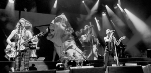 Depeche Mode packed the Santa Barbara Bowl Tuesday night. THOMAS KELSEY/NEWS-PRESS