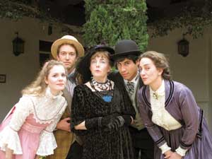 "In 2013 the Circle Bar B Dinner Theatre presented Oscar Wilde's ""The Importance of Being Earnest."" Circle Bar B Theatre photo"