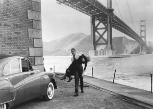 """Vertigo,"" starring James Stewart andKim Novak, willbe shown Wednesday"