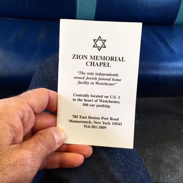 Dad - funeral prayer book 2.23.15