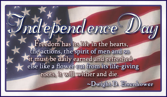 Independence Day… Declare Yours!