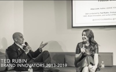 Ted Rubin and Brand Innovators 2013-2019…