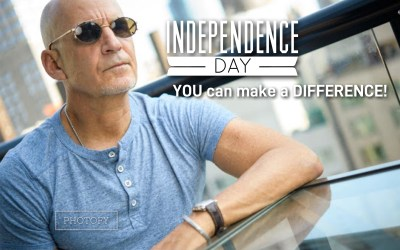 Independence Day… YOU CAN MAKE A DIFFERENCE!