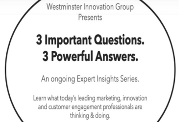 Westminster Innovation: 3 questions & 3 answers with Ted Rubin [video]