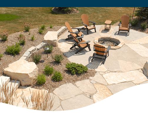 landscape design trends man made stone