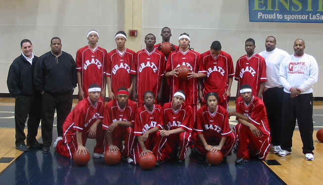 Basketball Team Photos, Jan. 2003