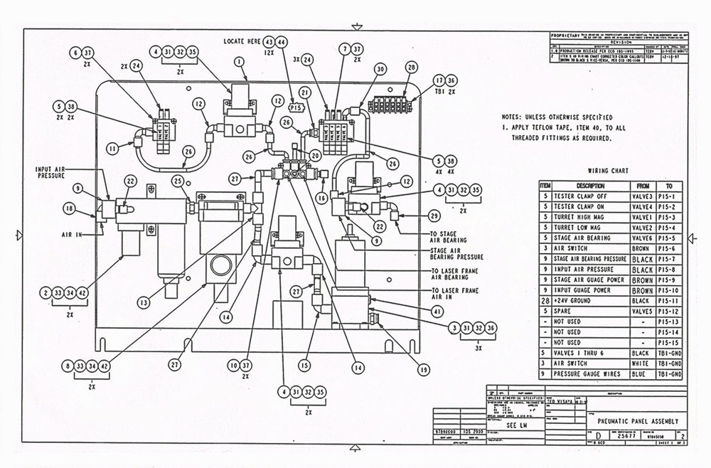 robotic arm wiring diagram