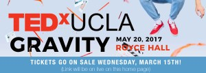 TEDxUCLA Banner May20th, 2017 Royce hall