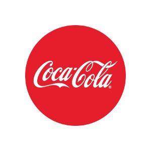El logo de Coca-Cola