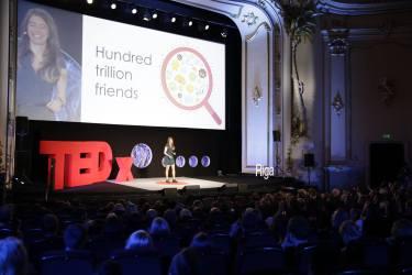 Alisa Kazarina at TEDxRiga