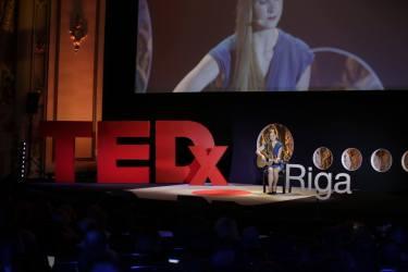 Alise Joste at TEDxRiga