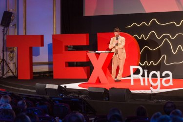 Sarcasm is ruining my life: Mike Collier at TEDxRiga