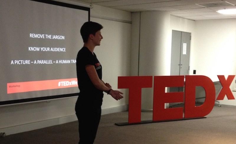 hannah TEDxWellingtonSalon