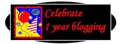 1 year blogging banner