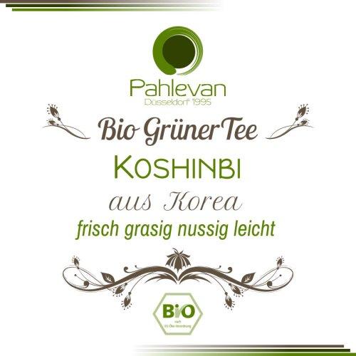 Bio Grüner Tee aus Korea, Koshinbi | frisch, grasig, nussig, leicht von Tee Pahlevan