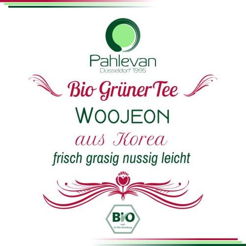 Bio Grüner Tee aus Korea, Woojeon | frisch, grasig, nussig, leicht von Tee Pahlevan