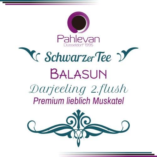 Schwarzer Tee Darjeeling Balasun second flush | Premium Tee lieblich Muskatel Rarität von Tee Pahlevan