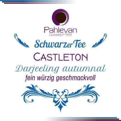 Schwarzer Tee Darjeeling Castleton second flush | fein würzig geschmackvoll von Tee Pahlevan
