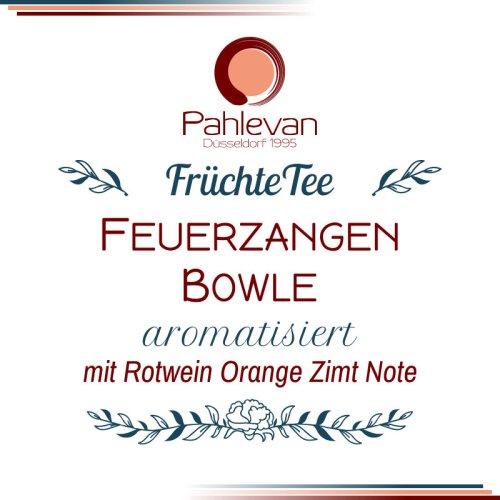 Früchtetee Feuerzangenbowle | mit Orange Zimt und Rotwein-Aroma von Tee Pahlevan