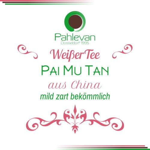 Weißer Tee Pai Mu Tan   mild, zart, bekömmlich