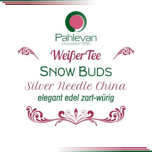 Weißer Tee Snow Buds   elegant, edel, zart-würzig