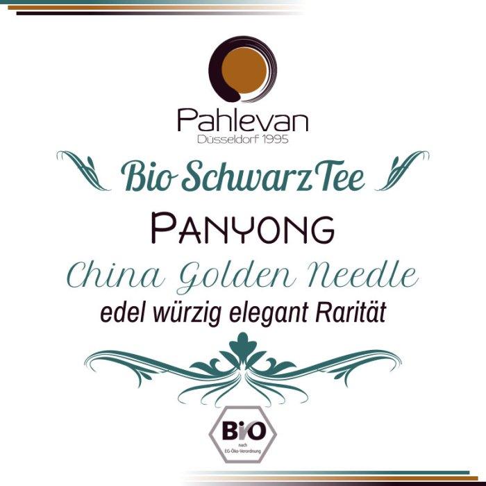 Bio Schwarzer Tee China Panyong | edel würzig elegant Rarität von Tee Pahlevan