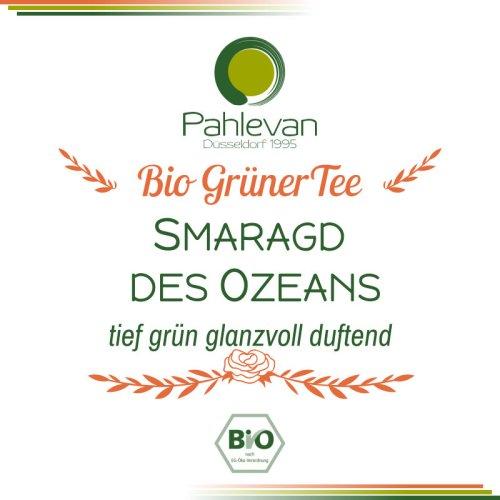Bio Grüner Tee Smaragd des Ozeans | China tief grün glanzvoll duftend von Tee Pahlevan