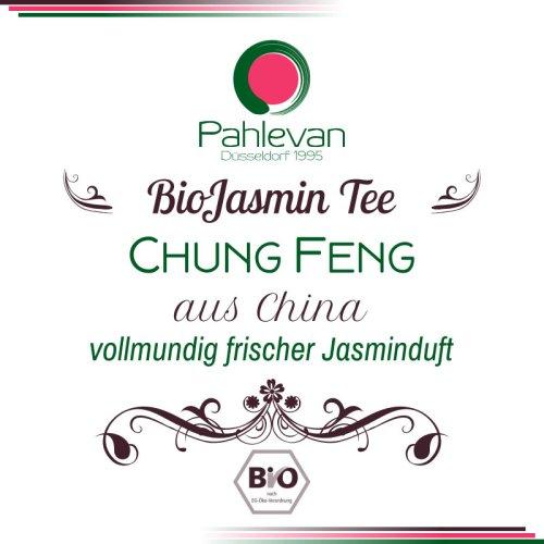 Bio Jasmintee Chung Feng | vollmundig frischer Jasminduft von Tee Pahlevan