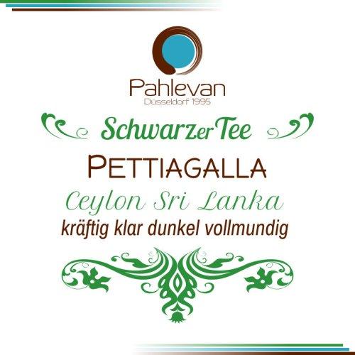 Schwarzer Tee Ceylon Pettiagala   kräftig klar dunkel vollmundig von Tee Pahlevan