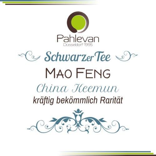 Schwarzer Tee China Keemun Mao Feng   edel kräftig bekömmlich Rarität von Tee Pahlevan