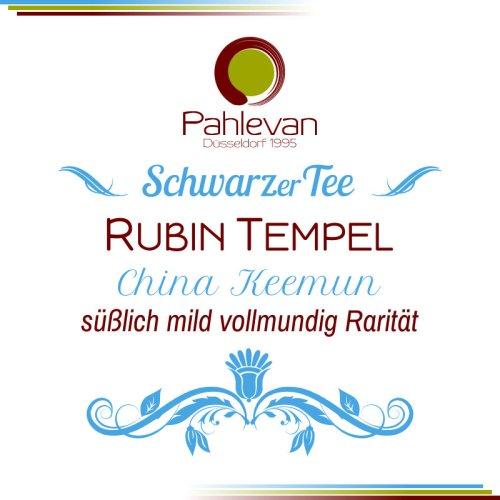 Schwarzer Tee China Rubin Tempel | süßlich mild vollmundig Rarität von Tee Pahlevan