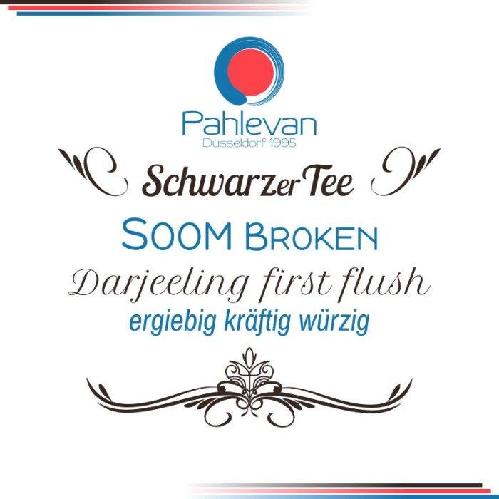 Schwarzer Tee Darjeeling Soom Broken first flush | ergiebig kräftig würzig von Tee Pahlevan