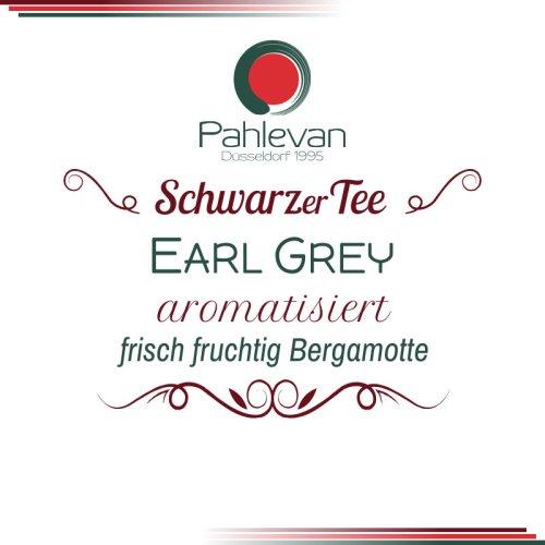 Schwarzer Tee Earl Grey | frisch fruchtig mit Bergamotte von Tee Pahlevan