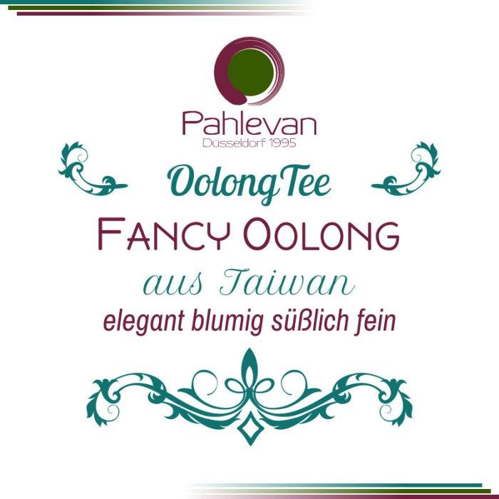 Fancy Oolong Tee   elegant blumig süßlich fein von Tee Pahlevan