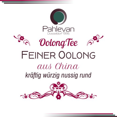Feiner Oolong Tee | kräftig würzig nussig rund von Tee Pahlevan