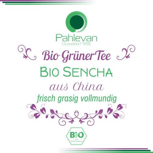 Bio Grüner Tee Sencha | China frisch grasig vollmundig von Tee Pahlevan