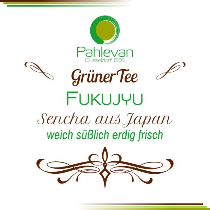 Grüner Tee Sencha Fukujyu   aus Japan weich süßlich erdig frisch von Tee Pahlevan