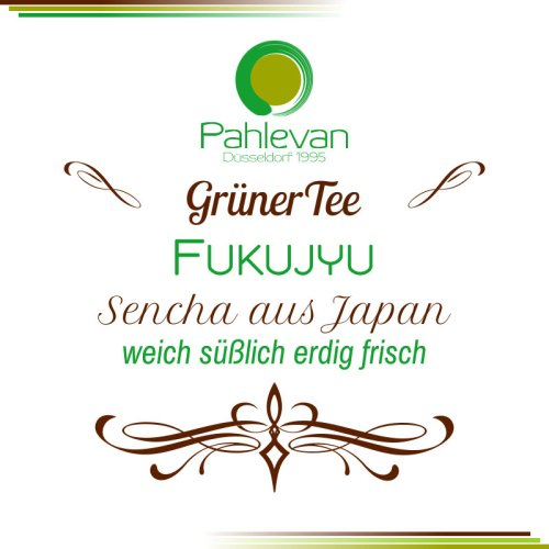 Grüner Tee Sencha Fukujyu | aus Japan weich süßlich erdig frisch von Tee Pahlevan