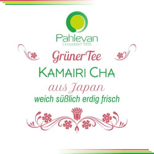 Grüner Tee Kamairi Cha | aus Japan weich süßlich erdig frisch von Tee Pahlevan