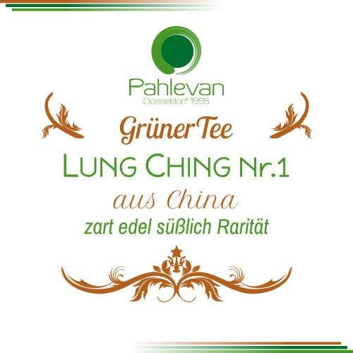 Grüner Tee Lung Ching No. 1 | China zart edel süßlich Rarität von Tee Pahlevan