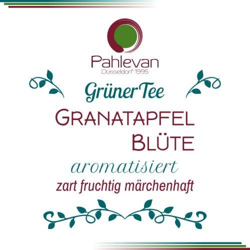 Grüner Tee Granatapfel Blüte | zart fruchtig märchenhaft von Tee Pahlevan