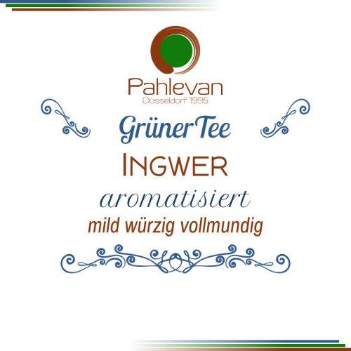 Grüner Tee Ingwer | mild würzig vollmundig von Tee Pahlevan