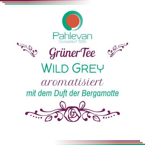 Grüner Tee Wild Grey | mit dem Duft der bergamotte von Tee Pahlevan