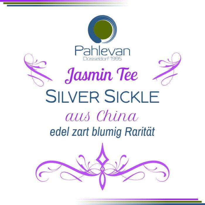 Jasmintee Silver Sickle | zart edel blumig Rarität von Tee Pahlevan