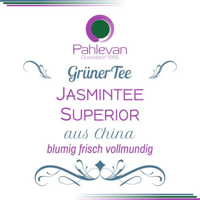 Jasmintee Superior   blumig frisch vollmundig von Tee Pahlevan